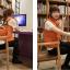 Ouremu ++สินค้าพร้อมส่งค่ะ++เสื้อ jacket เกาหลี แขนกุด กระดุมหน้า ไหมพรมซับในขนเฟอร์เก๋ ลาย Paul Frank – สีส้ม thumbnail 2
