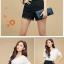 ++เสื้อผ้าไซส์ใหญ่++Qian Fei Mei* Pre-Order* กางเกงแฟชั่นไซส์ใหญ่แต่งผ้าลูกไม้ปลายกางเกงและด้านหน้ามีกระเป๋าหลัง 2 ข้างสวยจ้า thumbnail 13