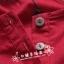 Pre Order - เสื้อแฟชั่น เสื้อคอกลม ติดกระดุมที่หน้าอก พับแขนเก็บได้ สี : สีน้ำเงิน / สีแดง / สีขาว thumbnail 6