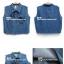 (พรีออเดอร์) เสื้อยีนส์แฟชั่น แขนกุด แต่งลายหัวกะโหลก thumbnail 7