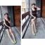 Pre Order - รองเท้าแฟชั่นเกาหลี แบบลำลอง หวาน ๆ เน้นรูปทรงเท้า สี : สีน้ำเงิน / สีเขียว / สีม่วง / สีขาว thumbnail 2