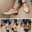 Pre Order - รองเท้าแฟชั่น ดีไซด์น่ารัก ส้นไม่สูง ใส่สบาย thumbnail 3