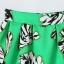 ++สินค้าพร้อมส่งค่ะ++ชุดเซ็ทเกาหลี เสื้อคอปกลูกไม้ แขนกุด ดีไซด์หวาน+กระโปรงพิมพ์ลายเนื้อดี – สีขาว+เขียว thumbnail 5