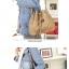 ++พร้อมส่ง++กระเป๋าแฟชั่น แบรนด์ Axixi สีำกากี thumbnail 2