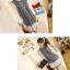 ++เสื้อผ้าไซส์ใหญ่++ Qiaoyi *Pre-Order *ชุดเดรสเกาหลีไซส์ใหญ่แขนยาวผ้าฝ้ายเนื้อนุ่มแต่งระบายด้วยผ้าชีฟองน่ารักมากค่ะ thumbnail 3