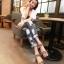 Pre Order - รองเท้าแฟชั่นเกาหลี รองเท้าแตะ เบาสบาย ส้นเตี้ย ลายเก๋ ๆ สี : สีดำ / สีน้ำตาลลายเสือ / สีขาวลายม้าลาย thumbnail 5