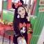 ++สินค้าพร้อมส่งค่ะ++ชุดเซ็ทเกาหลี เสื้อคอกลม แขนยาว ปัก Minnie ด้านหน้าเสื้อและกระโปรงน่ารัก มี 3 สีค่ะ สี ดำ thumbnail 3