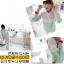 ++สินค้าพร้อมส่งค่ะ++ชุด Sport set เกาหลี เสื้อแขนยาว มี Hood เอวจั้ม +กางเกงขายาว ดีไซด์เล่นสีผ้าเก๋ มี 3 สีค่ะ - สีเขียว/ชมพู thumbnail 4