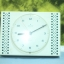 T0670 นาฬิกาแขวนเยอรมันโบราณ JUNGHANS ส่ง EMS ฟรี thumbnail 1