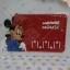 แผ่นยางกันลื่นวางหน้ารถ มินนี่เม้าส์ minnie mouse ขนาด 21 * 12 ซม. ลายมินนี่เม้าส์ สีแดง thumbnail 1