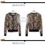 ++สินค้าพร้อมส่งค่ะ++ เสื้อ cardigan เกาหลี แขนยาว ติดกระดุมด้านหน้า ผ้าลายเสือ แต่งขอบรอบตัวเสื้อด้วยผ้าคล้ายหนัง – สี Leopard thumbnail 3