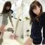 ++เสื้อกันหนาวพร้อมส่ง++ ชุด Jumpsuit กางเกงขาสั้นเกาหลี แขนยาว มี hood แต่งขนเฟอร์ เนื้อผ้านิ่มมาก เอวรูด น่ารัก มี 2 สีค่ะ – สี เทา thumbnail 4