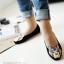 Pre Order - รองเท้าแฟชั่น หุ้มส้น หัวรองเท้าเป็นรูปเสือ แบบสดใส สี : สีชมพู / สีเขียว / สีน้ำเงิน / สีดำ thumbnail 2