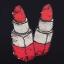 PreOrderไซส์ใหญ่ - เซตคู่เสื้อ-กางเกงขายาวแฟชั่นคนอ้วน เสื้อยืดพิมพ์ลายลิปสติกสีดำ กางเกงขายาวสีแดง thumbnail 6