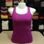 เสื้อกล้ามหลังสปอร์ต สีม่วงบานชื่น thumbnail 2