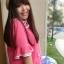 PreOrderไซส์ใหญ่ - เสื้อแฟชั่นเกาหลี ไซส์ใหญ่ คนอ้วน ผ้าชีฟอง แต่งระบายที่คอและแขน สี : ชมพู / น้ำเงิน thumbnail 7