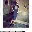 ++สินค้าพร้อมส่งค่ะ++ ชุดเซ็ทเกาหลี เสื้อคอกลม แขนเลย ปลายเสื้อโค้งเก๋ ผ้า spandex เนื้อดีพิมพ์ลาย สกรีนด้านหน้าและกระโปรงเก๋ มี 2 สีค่ะ สี ดำ thumbnail 3