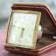 T0718 นาฬิกาปลูก Junghans Bivox ตลับหนัง สวยมาก เดินดีปลุกดี ส่ง EMS ฟรี thumbnail 6
