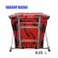 อ่างอาบน้ำทรงสี่เหลี่ยมพับได้ size L ลายกราฟฟิก แดง-ดำ thumbnail 3