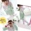 ++สินค้าพร้อมส่งค่ะ++ชุด Sport set เกาหลี เสื้อแขนยาว มี Hood เอวจั้ม +กางเกงขายาว ดีไซด์เล่นสีผ้าเก๋ มี 3 สีค่ะ - สีเขียว/ชมพู thumbnail 2