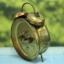 T0639 นาฬิกาปลุกเยอรมันโบราณ Jerger ส่ง EMS ฟรี thumbnail 5