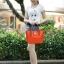 (พรีออเดอร์) กระเป๋าแฟชั่น มีสายสะพายยาว ข้างในมีกระเป๋าใบเล็กอีกหนึ่งใบ thumbnail 5