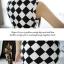 Cherry KoKo ++สินค้าพร้อมส่งค่ะ++ ชุดเดรสเกาหลี แขนกุด แฟชั่นใหม่ ฤดูร้อนผู้หญิงเกาหลี 2013 แฟชั่นชุดที่เรียบง่ายลายคลาสสิค – สีขาวดำ thumbnail 7