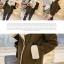 ++สินค้าพร้อมส่งค่ะ++ เสื้อ jacket เกาหลี คอปกพับ แขนยาว ผ้าหนังกับด้านนอก+ด้านในขนอกะเนื้อดีมาก ดีไซด์เทห์ มี 2 สีค่ะ – สี เขียว thumbnail 7