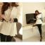 Pre Order - เสื้อคลุมสูทแฟชั่นเกาหลี แขนห้าส่วน เป็นสาวทำงานมากค่ะ thumbnail 7