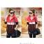 Times Size++สินค้าพร้อมส่งค่ะ++ เสื้อ Jacket เกาหลี แขนยาว มี hood ผ้า cotton sweater เนื้อดีพิมพ์ลายน้องแมวรอบ ซิบเก๋ด้วยตัวห้อยน้องแมว – สีแดง thumbnail 2