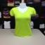 """เสื้อยืดคอวี สีเขียวมะนาว size """"M"""" thumbnail 1"""
