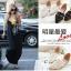 Pre Order - รองเท้าแฟชั่นเกาหลี หนัง PU สไตล์โรมัน ใส่สบาย ๆ ส้นเตี้ย สี : สีดำ / สีชมพู / สีขาว thumbnail 8