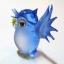 นกฮูกแก้วเป่า Glass Figurine Owl thumbnail 4