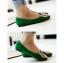 Pre Order - รองเท้าแฟชั่น หุ้มส้น หัวรองเท้าเป็นรูปเสือ แบบสดใส สี : สีชมพู / สีเขียว / สีน้ำเงิน / สีดำ thumbnail 6