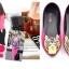 Pre Order - รองเท้าแฟชั่น หุ้มส้น หัวรองเท้าเป็นรูปเสือ แบบสดใส สี : สีชมพู / สีเขียว / สีน้ำเงิน / สีดำ thumbnail 7