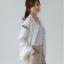 ++สินค้าพร้อมส่งค่ะ++ jacket เกาหลี แขนยาว คอกลม ผ้า polyester เนื้อดีค่ะ ดีไซด์เสื้อ basewheel มี 2 สีค่ะ – สีขาว thumbnail 5