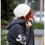 ++สินค้าพร้อมส่งค่ะ++เสื้อ coat เกาหลี สไตล์ cardigan ตัวยาว แขนยาว มี hood ซับในด้วยขนนิ่มอุ่นมากๆ ค่ะ ทอรูป Mickey ทั้งตัว มี 3 สีค่ะ – สีเทา thumbnail 4