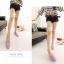 Pre Order - รองเท้าแฟชั่น สีหวาน ด้านข้างเป็นแบบซีทรู สี : สีชมพู / สีม่วง / สีขาว thumbnail 2