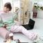 ++สินค้าพร้อมส่งค่ะ++ชุด Sport set เกาหลี เสื้อแขนยาว มี Hood เอวจั้ม +กางเกงขายาว ดีไซด์เล่นสีผ้าเก๋ มี 3 สีค่ะ - สีเขียว/ชมพู thumbnail 8