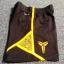 ฺBP-006 (4Y,7Y) กางเกงกีฬา Nike สีดำ ติดแถบเหลือง ปักแบรนด์ Nike สีเหลือง thumbnail 4