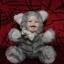 """ตุ๊กตาขนนุ่ม กระต่าย+แมว 9"""" thumbnail 1"""