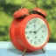 T0637 นาฬิกาปลุกเยอรมันโบราณ EUROPA ส่ง EMS ฟรี thumbnail 6