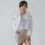 ++สินค้าพร้อมส่งค่ะ++ jacket เกาหลี แขนยาว คอกลม ผ้า polyester เนื้อดีค่ะ ดีไซด์เสื้อ basewheel มี 2 สีค่ะ – สีขาว thumbnail 4
