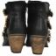 Pre Order - รองเท้าบูทแฟชั่น ส้นสูง หัวเข็ม ซิปด้านข้าง สี : สีทอง / สีเทา / สีดำ thumbnail 9