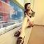 Pre Order - รองเท้าแฟชั่นเกาหลี หนัง PU สไตล์โรมัน ใส่สบาย ๆ ส้นเตี้ย สี : สีดำ / สีชมพู / สีขาว thumbnail 2